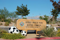 Nevada Alliance Soccer League, Desert Breeze Park